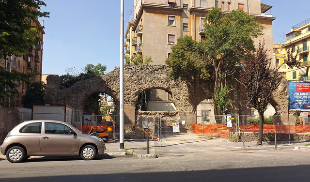 The Navalia (Formerly Thought to be the Porticus Aemilia) in Rome, July 2012