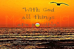 """""""With God..."""" ~ digital painting photograph"""
