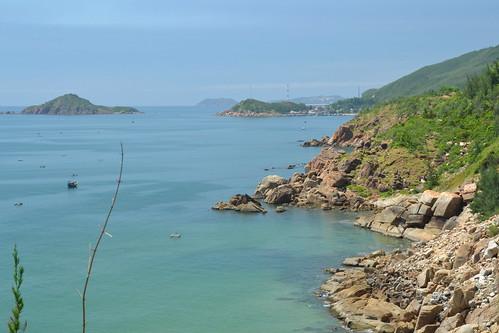 Qui Nhon beach, Vietnam