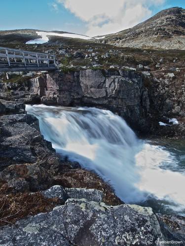 Biertejohka falls