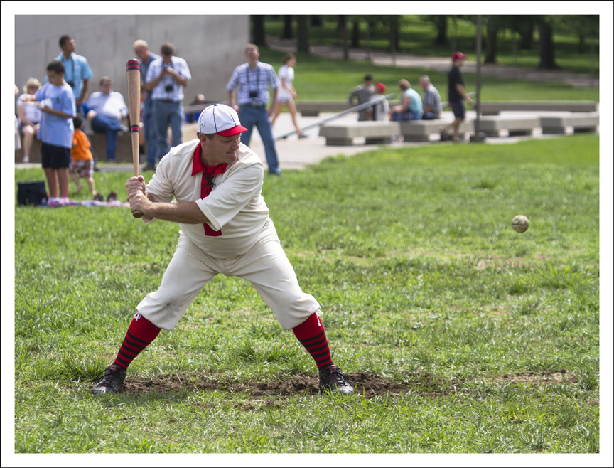 Vintage Baseball Under the Arch 1