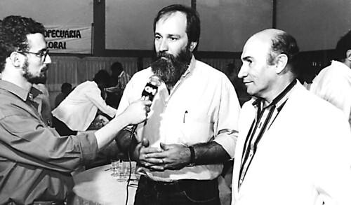 Angelo Rigon, Osmar Dias e Verdelírio Barbosa