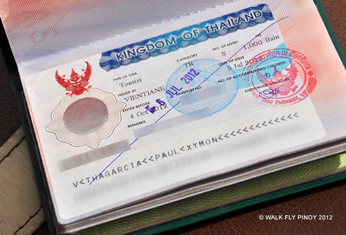 Thai Visa, Visa Run to Chiang Mai