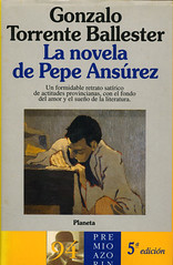 Gonzalo Torrente Ballester, La novela de Pepe Ansúrez