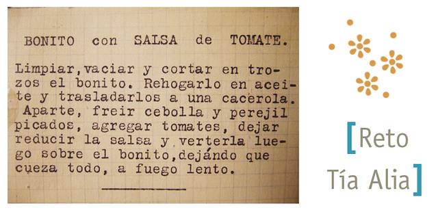 Bonito con salsa de tomate_receta_foto