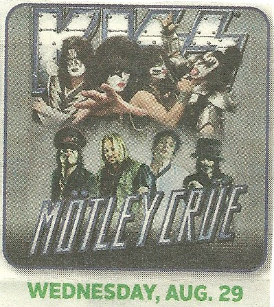 08-29-12 Kiss/Motley Crue @ MN State Fair, St. Paul, MN