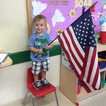 so proud of my little man, I love how his school teaches responsibility and character. by bartlewife