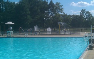 Fountains at Neshaminy State Park Pool