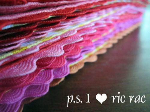 p.s. I heart ric rac