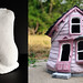 From plaster bust to little pink house.