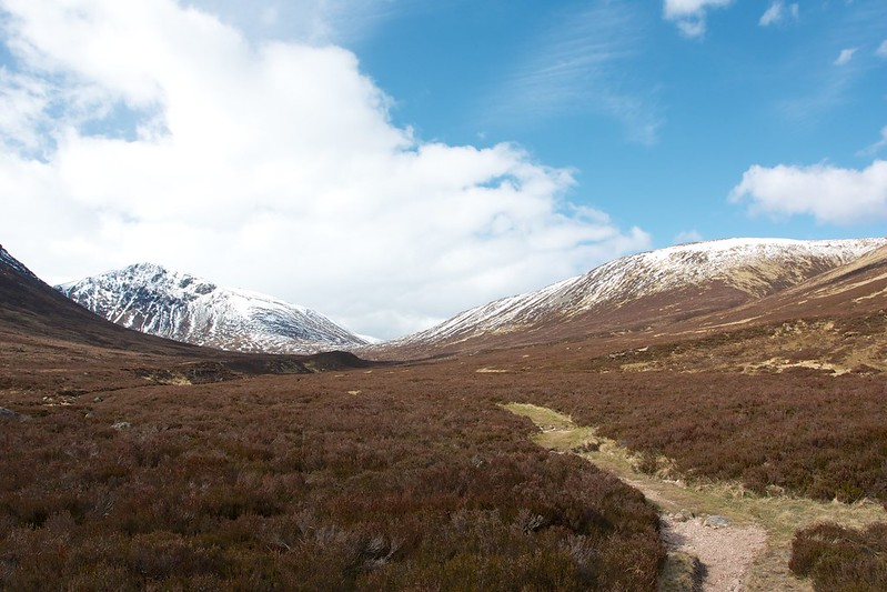 The hills of the Lairig an Laoigh