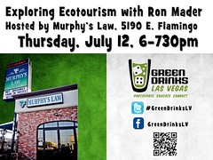 Green Drinks July 2012: Exploring Ecotourism with Ron Mader #GreenDrinksLV #RTYear2012