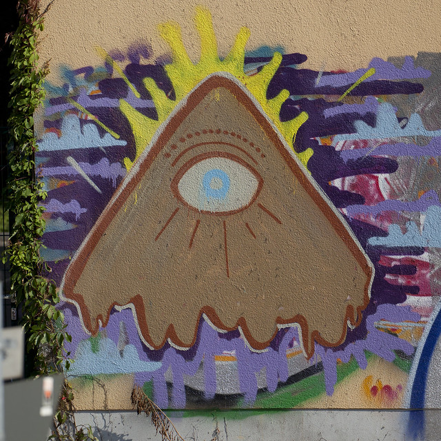 Illuminati graffiti | Flickr - Photo Sharing!