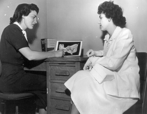 Public health education, circa 1951