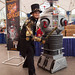 Steampunk Abraham Lincoln Vampire Hunter and Lost In Space Robot 2