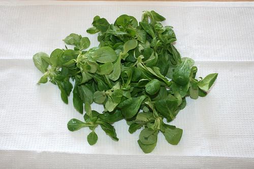 25 - Salat trocken schütteln / Dry salad