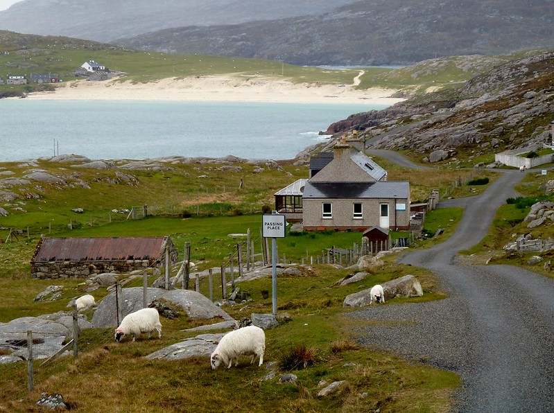Backroad, Isle of Harris, Outer Hebrides, Scotland