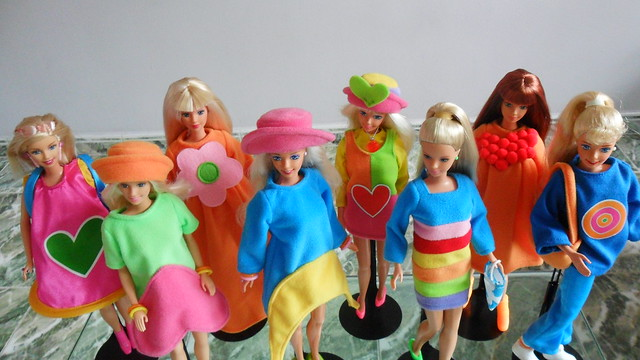 OOAK Ágatha Ruíz de la Prada Barbie www.elblogdeken.es