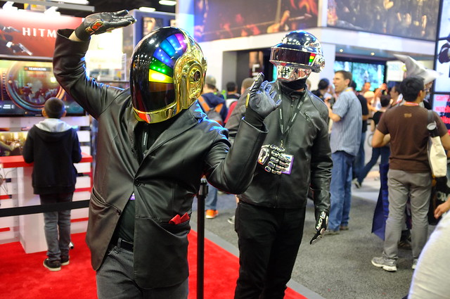 Daft Punk cosplay