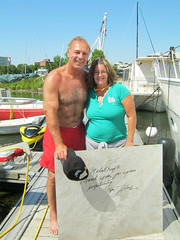 Guy Lafleur at Kingston Marina