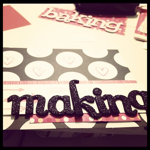 Making...a book of all the things I love this summer