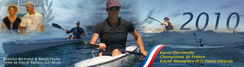 Championne de France 2010 - Ocean Racing - Karen Davranche