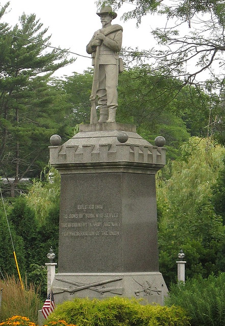 Confederate Soldier in Maine