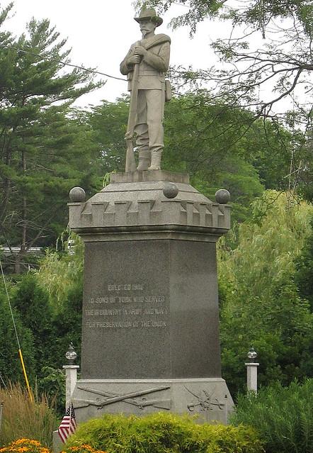 Confederate Soldier in Maine