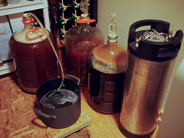 Fermenting / Cellaring Homebrewed Beers