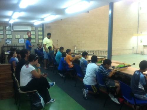 Club Los Mosqueteros, Divulgación del tiro Olimpico
