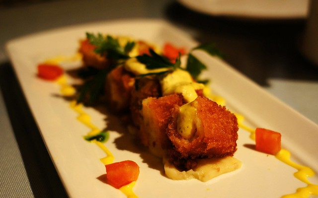 Fried Shrimp Cake wz Mayo | a most favorite food of my son | Flickr ...