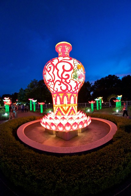 Flickr photo sharing Missouri botanical garden lantern festival