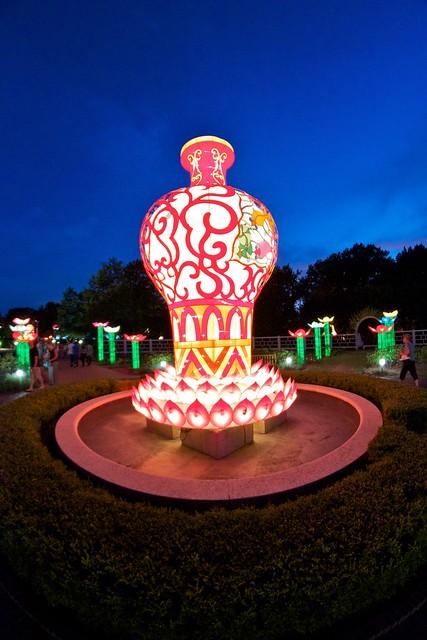 Flickr photo sharing Missouri botanical garden lantern festival