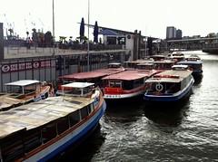 Hamburger Hafen, Landungsbrücken, Boote