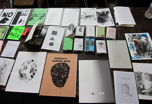 Comic zines, cassettes, and more