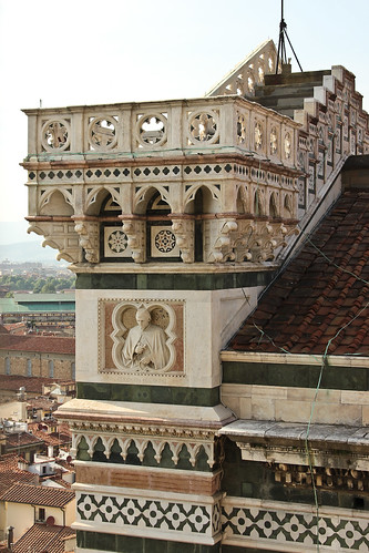 View from Giotto Campanile, Florence