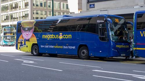 53642 in Birmingham on a Megabus service to Paris