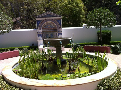 getty villa :: east garden