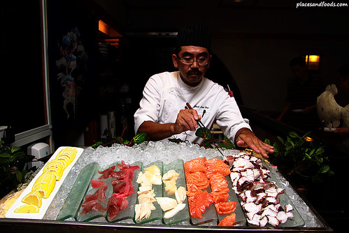 Japanese Buffet in Kampachi Equatorial Penang