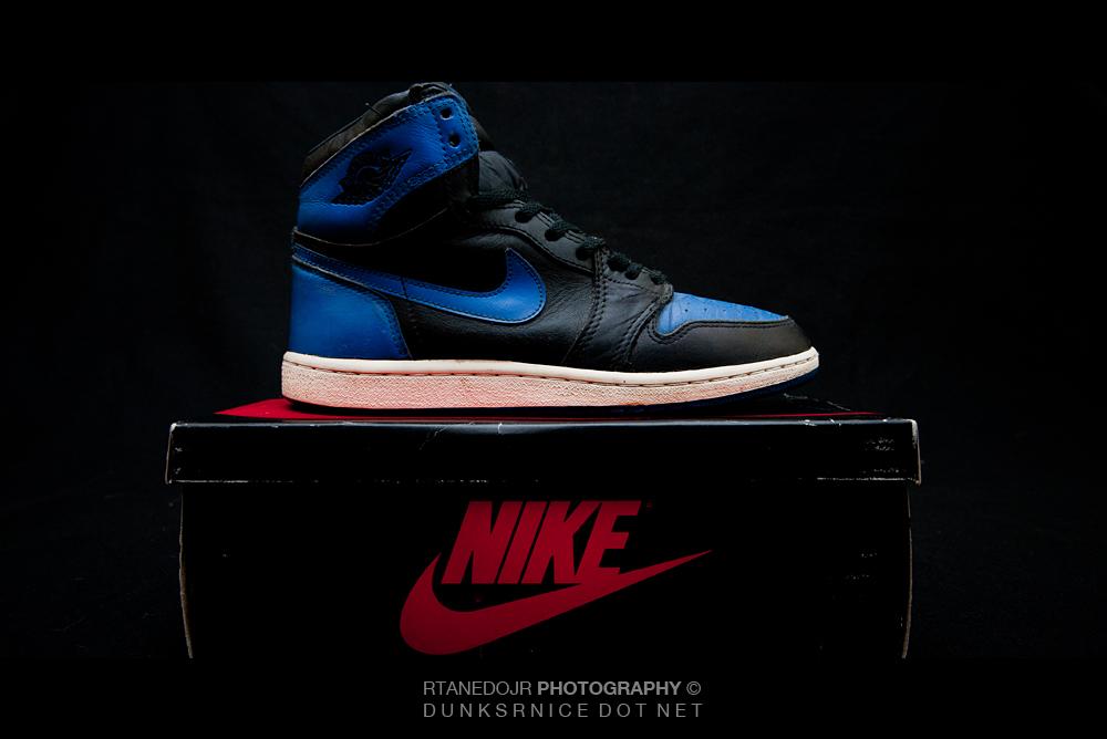 1985 Air Jordan I.
