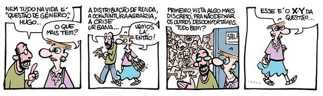 Muriel, de Laerte - O X-Y da questão