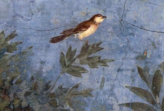 Painted Garden Villa Of Livia Detail With Bird Flickr