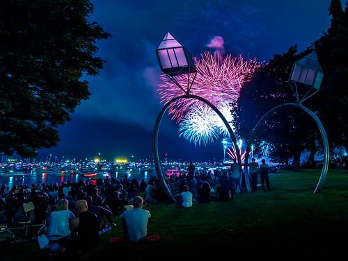 Engagement Rings by Dennis Oppenheim + Fireworks