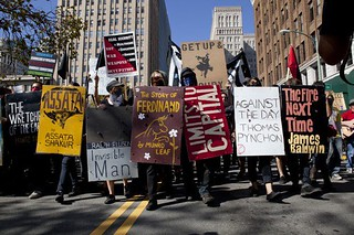 The Occupy Wall Street Library Book Bloc