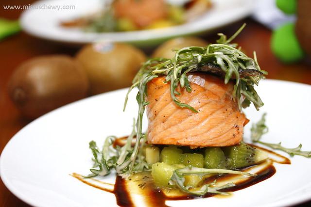 Zespri Kiwi Dinner @ The Living Cafe 029