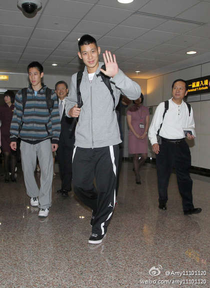 August 3rd, 2012 - Jeremy Lin arrives in Taipei