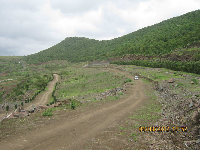 Cut, Demolished & Destroyed Hill of XRBIA Hinjewadi Pune