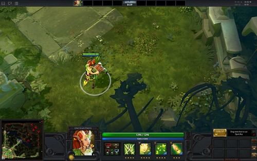 Dota 2 Enchantress