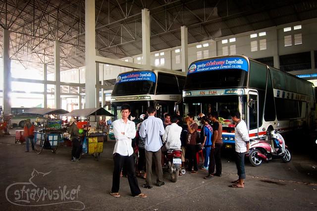 Siem Reap Bus Station