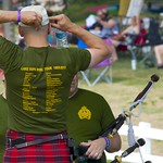 Lake Superior Scottish Regiment - Canadian Army Reserves at the Glengarry Highland Games.